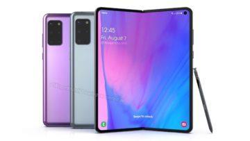 Samsung Galaxy Fold 2 Waqar Kahn render 6