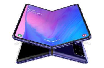 levný ohebný telefon Samsung Galaxy Fold 2 Waqar Kahn rendery