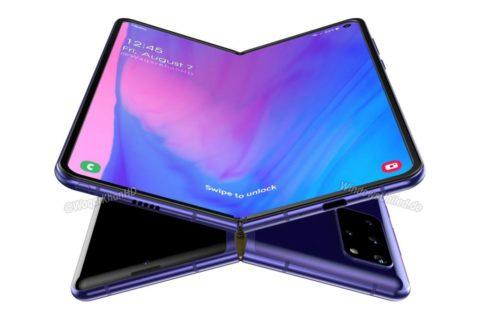 Samsung Galaxy Fold 2 Waqar Kahn rendery