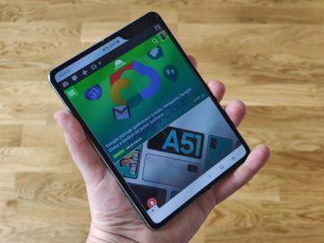 Samsung Galaxy Fold ohebný displej