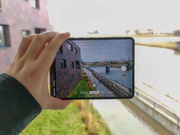 Samsung Galaxy Fold při focení