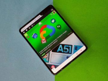 Samsung Galaxy fold velký displej