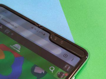 Samsung Galaxy Fold výřez