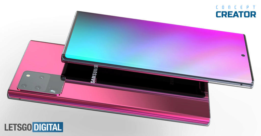 Samsung Galaxy Note20 Plus Ultra LGD render 1
