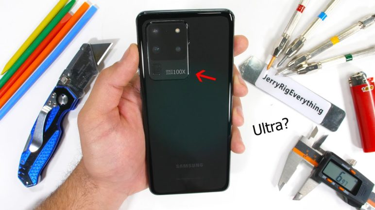 Samsung Galaxy S20 Ultra Durability Test! - Is it... Ultra Strong?