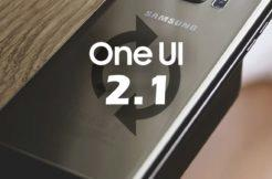 Samsung update ONE UI 2.1