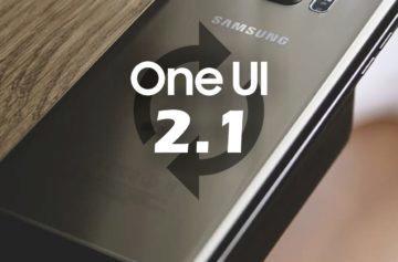 Samsung update ONE UI 2.1