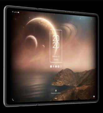 TCL tablet displej se dvema ohyby 2