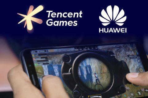 Tencent Huawei nová platforma GameMatrix