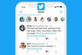 Twitter Fleets testování