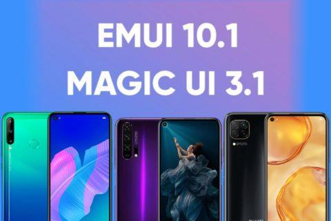 update na EMUI 10.1