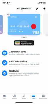 virtuální platební karta