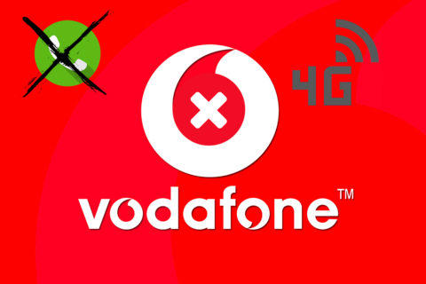 vodafone problémy s výpadky internet hovory sms