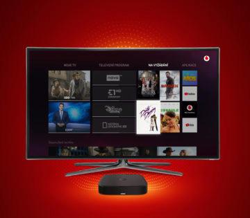 Vodafone TV televize