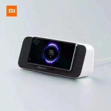 Xiaomi bezdrátová nabíječka a reprák