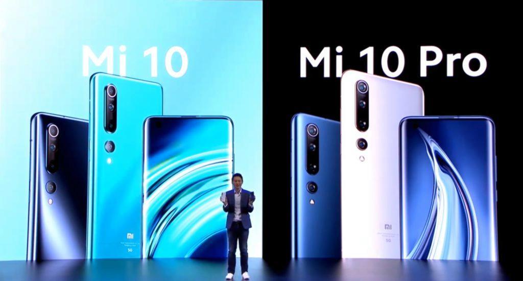 Xiaomi Mi 10 a Mi 10 Pro