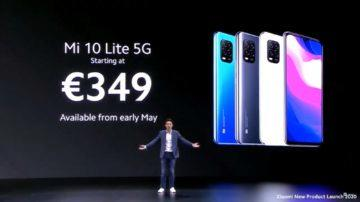 Xiaomi Mi 10 Lite 5G nejnižší cena
