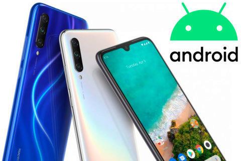 xiaomi mi a3 android 10 aktualizace