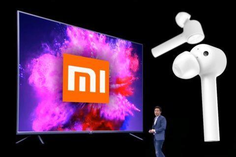 Xiaomi televize sluchátka router čistička vzduchu
