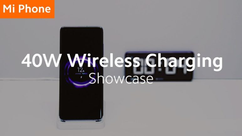 Xiaomi's First 40W Wireless Fast Charging Solution