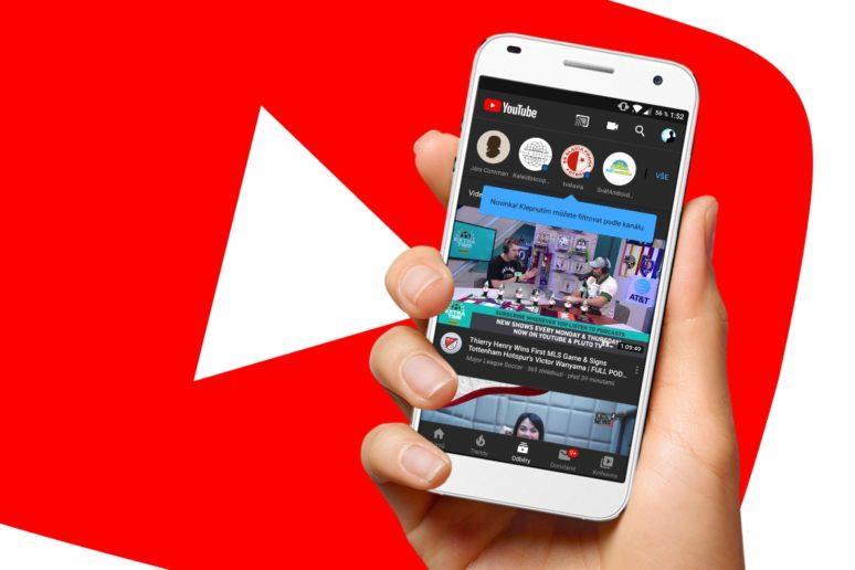YouTube odběry filtrování videí podle kanálů