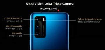základní Huawei P40