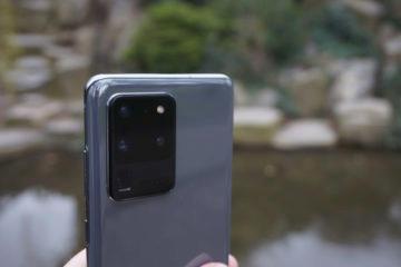 zpracovani telefonu samsung galaxy s20 ultra 5g fotoaparat