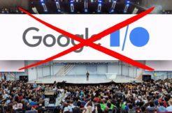 zrušená konference Google IO