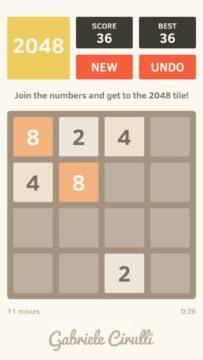 2048 screenshot 4