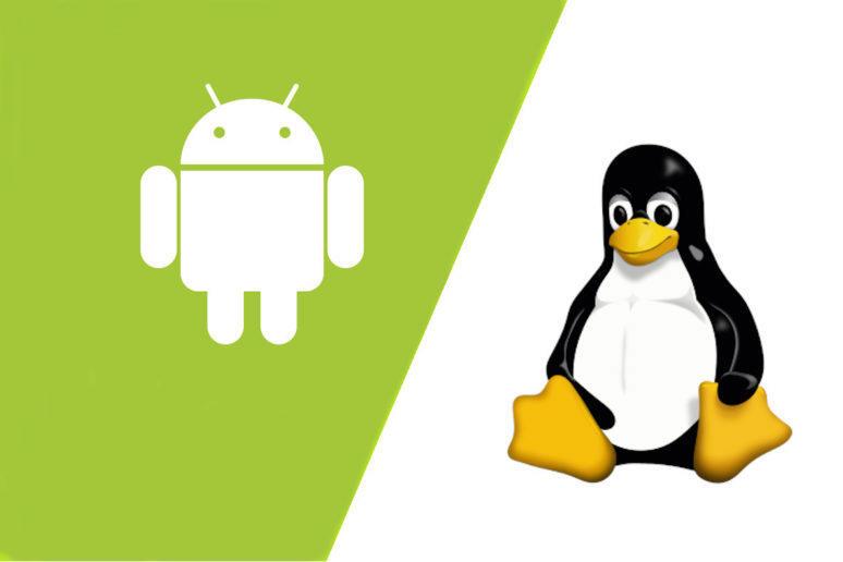 Aplikace pro Android na Linuxu