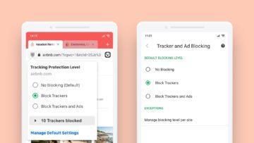 Android prohlížeč Vivaldi blokování reklam a sledování