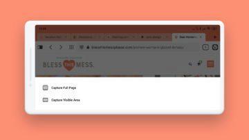 Android prohlížeč Vivaldi snimky obrazovky
