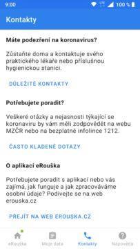 aplikace eRouška screen 4