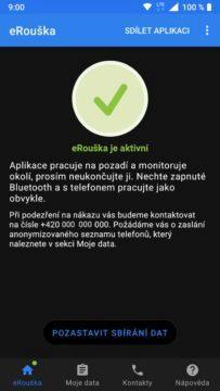 aplikace eRouška screen 5