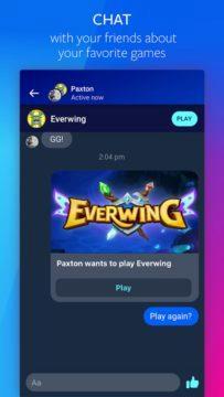 aplikace Facebook Gaming 3