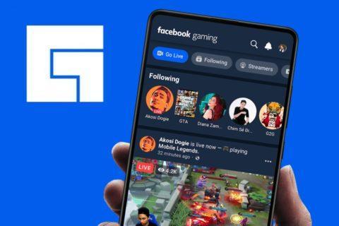 aplikace Facebook Gaming