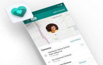 aplikace Microsoft Family Safety sledování polohy