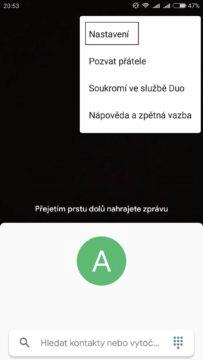 aplikace videohovory