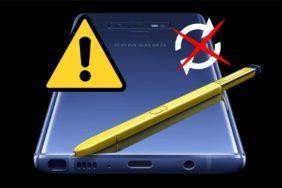 březnový bezpečnostní update Galaxy Note 9 problém upozornění