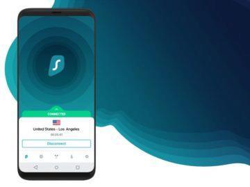 česká VPN Surfshark aplikace Android