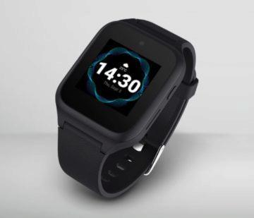 Chytré hodinky pro seniory TCLMOVETIME Family Watch MT40S displej