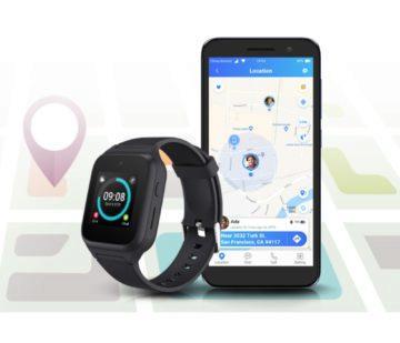 Chytré hodinky pro seniory TCLMOVETIME Family Watch MT40S gps