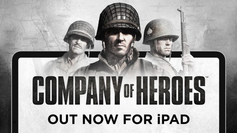 Company of Heroes – Out now for iPad