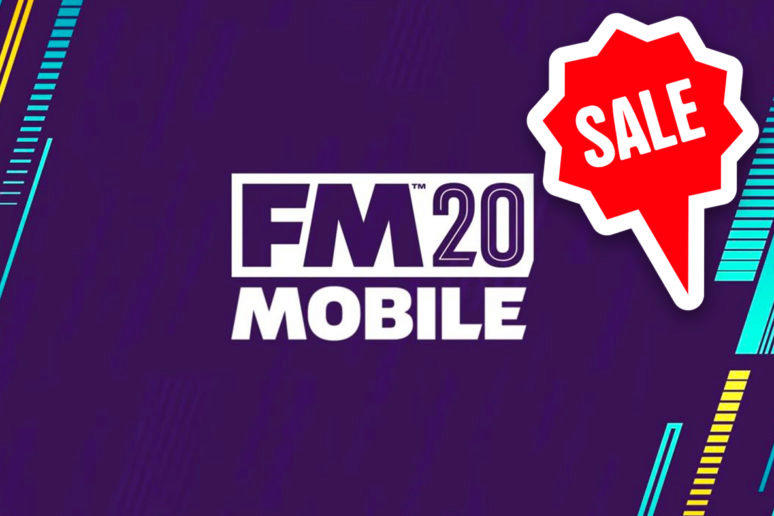 football manager 2020 mobile sleva