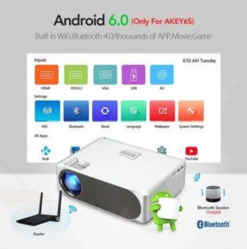 FullHD Projektor s Androidem