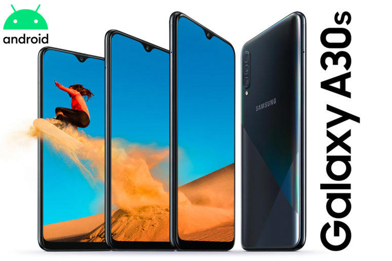 galaxy a30s aktualizace android