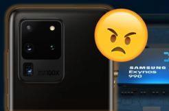 Galaxy S20 Ultra Exynos problémy