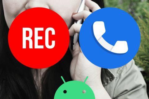Google Android nahrávání hovorů