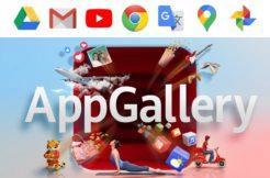 Google aplikace Huawei AppGallery