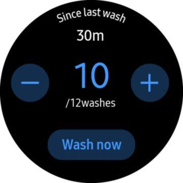 Hand Wash Samsung aplikace 2